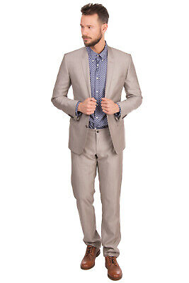 RRP €1365 DOLCE & GABBANA MARTINI Wool & Silk Suit Size IT 50 / L Made in Italy