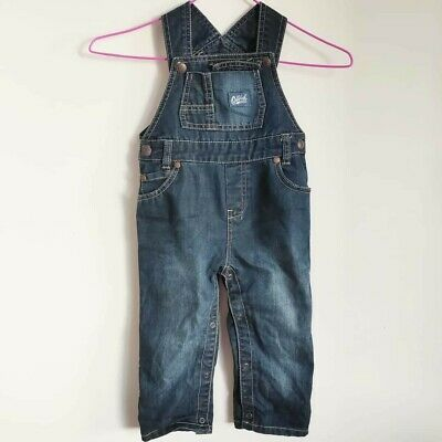 Oshkosh Osh Kosh B'Gosh Denim Overalls Toddler Baby