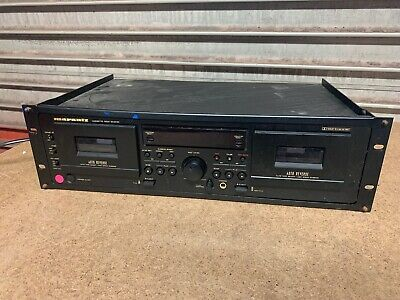 1999 Vintage Marantz SD4050 Twin Deck Cassette Recorder & Player Free Postage