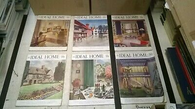 The Ideal Home & Gardening Magazine: Complete 12 Issue Set: Jan-Dec 1945