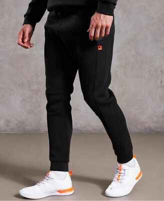 New Mens Superdry Gym Tech Stretch Joggers Carbon