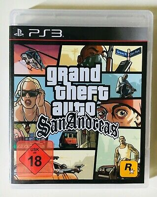 GTA   Grand Theft Auto   San Andreas   Playstation 3   PS3   SEHR GUT   OVP