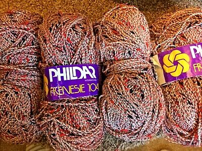 200g Phildar Frenzie knitting wool yarn.