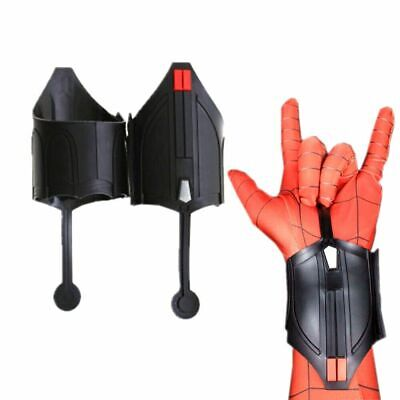 2pcs Spiderman Homecoming Peter Parker Web Shooter Cosplay Costume Prop Decorate