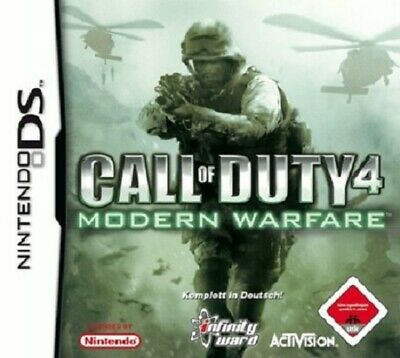 Call of Duty 4 Modern Warfare | Nintendo DS | 3DS | Nur Modul