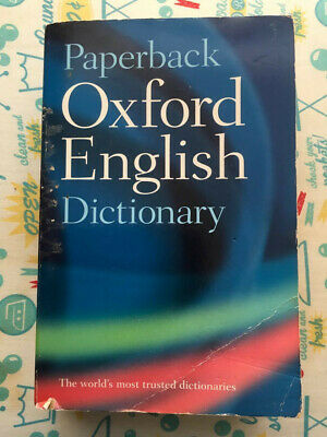 Oxford English Dictionary (7th Edition) by Oxford University Press...