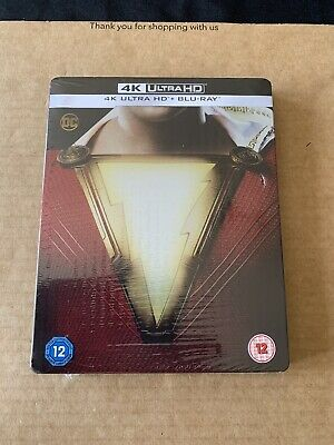 Shazam! Shazam Steelbook Ultra HD UHD 4K Blu-ray New & Sealed UK Release DCU