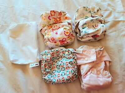 Bambooty Cloth Nappy Bundle excellent condition