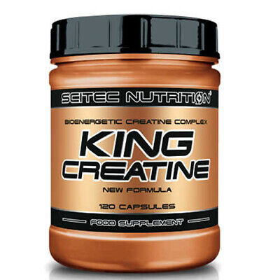 King Creatine 120 caps SCITEC NUTRITION