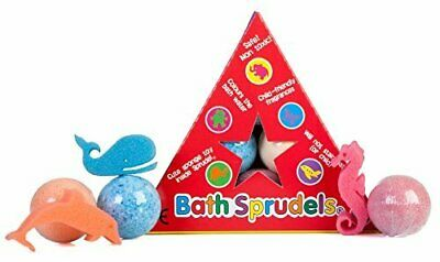Bath Sprudels Six Single Sponge Bath Bombs