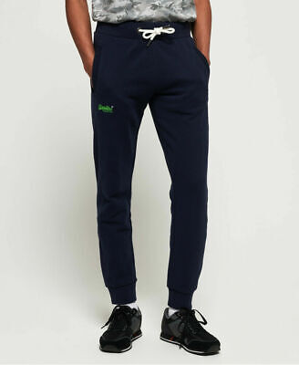New Mens Superdry Orange Label Lite Joggers Royal Navy