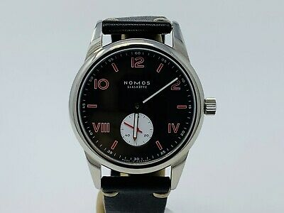 Nomos Glashutte Club Campus Amsterdam Limited Edition Watch BOX & PAPERS