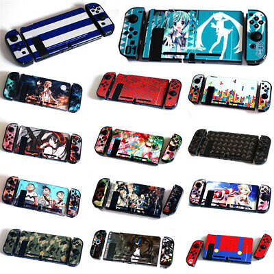 US Protection Shell Case Grip Hard Thin Shell Dockable for Nintendo Switch Cover