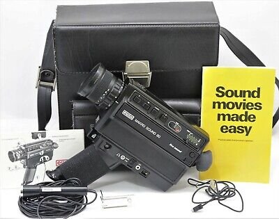 Eumig Makro Sound 80 Super 8 Cine Camera with accessories