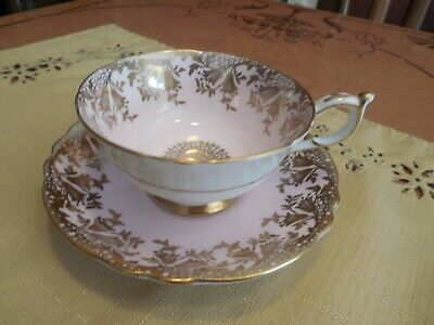 Paragon Fine Bone China Made in England By Appointment Tea Cup & Saucer