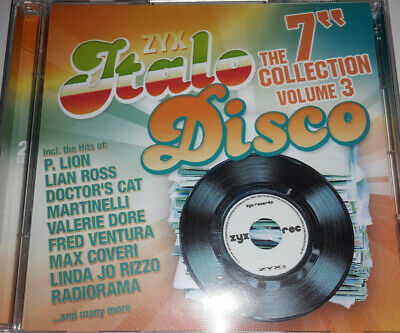 "ZYX Italo Disco: The 7"" Collection Vol. 3, 2-CD (2019), 80s, Savage, Radiorama"