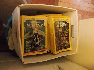 Lot 12 National Geographic Magazine Random Pick 1960's 1970's  No duplicates