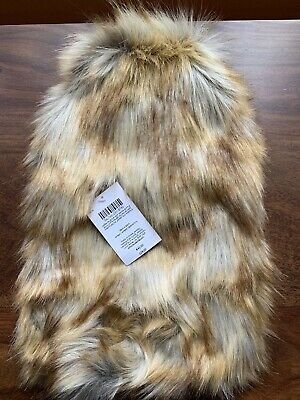 Laura Ashley Jasper Faux Fur Hot Water Bottle BNWT