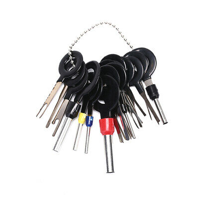 !18X Wire Terminal Removal Tool Car Electrical Wiring Crimp Connector Pin Kit