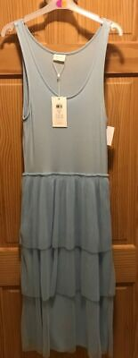 Brand New With Tag Ladies/Girls Dress. Light Blue. Size Small