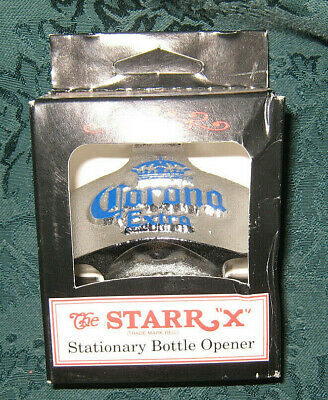 Corona Extra Beer Wall Mount Starr X Bottle Opener New - Must Have!