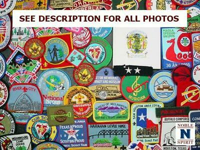 NobleSpirit  NO RESERVE (RA) Boy Scouts Camp & Jamboree Patch Collection
