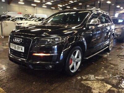 56 Audi Q7 3.0 Tdi Quattro S Line - Satnav, 7 Seat, 1/2Leather, Alloys, Fabulous