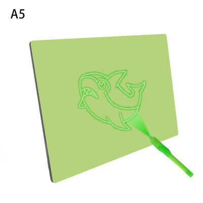 Draw With Light Developing Toy Fluorescent Drawing Board Magic Draw Educational
