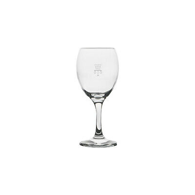 12x Wine Glass 250mL Plimsoll Line at 150mL Royale Crown Commercial Drinks