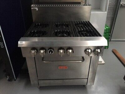 Thor Gas 6 Burner Stove with Oven
