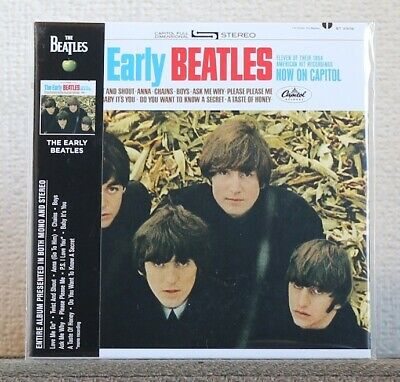 The Beatles The Early Beatles Cd Capitol Mono & Stereo High-Quality Remastered
