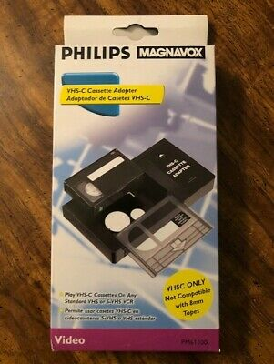 Philips Magnavox VHS-C Cassette Adapter PM61300 brand new