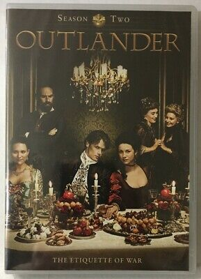 Outlander: Season Two (DVD, 2016, 5-Disc) New Sealed See Pictures!