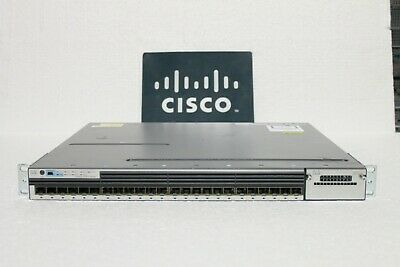 Cisco Catalyst 3750X WS-C3750X-24S-S 24-Port GbE SFP ipbase Managed Switch