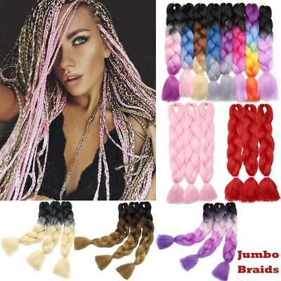 """24""""Colored Natural Jumbo Braids Hair Extensions Crochet Winding Hair Extensions"""