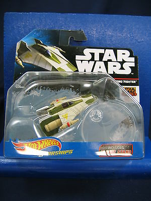 2016 Hot Wheels Star Wars A-Wing Fighter Starships