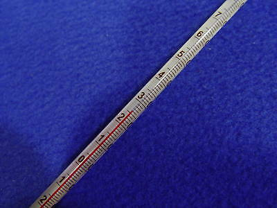 Glass lab thermometer -20~150 Celsius 6mm OD 300mm non-Hg class B