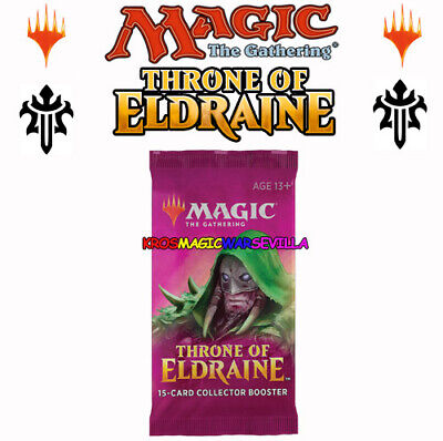 Throne of Eldraine Collector Booster OVP Sealed X 1 ENGLISH MTG MAGIC