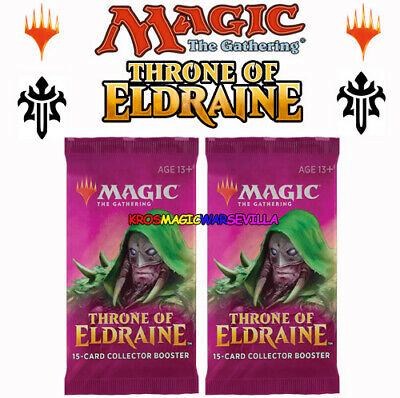 Throne of Eldraine Collector Booster OVP Sealed X 2 ENGLISH MTG MAGIC