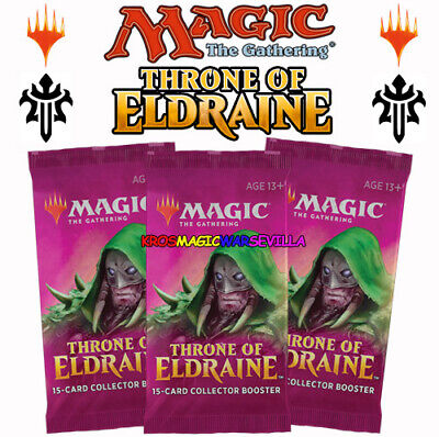 Throne of Eldraine Collector Booster OVP Sealed X 3 ENGLISH MTG MAGIC