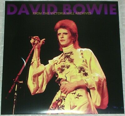 DAVID BOWIE – From the Victoria Hall Archives, UK/ Hanley 1973,on 1 LP + POSTER