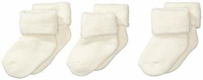 Sterntaler Baby First Socks 3 Pack / Beige 0-4 Months Brand New Free UK Postage