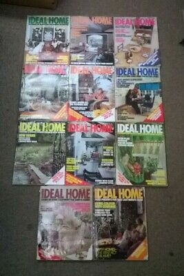 The Ideal Home & Gardening Magazine: Complete 12 Month Set: Jan-Dec 1975