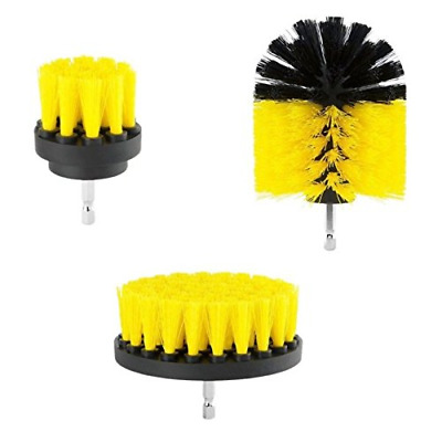 HOHT Power Scrubber Brush Set; Drill Scrubber Brush Cleaning Kit for Cleaning