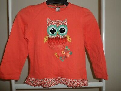Girls Top. Age 2-3. MotherCare. Owl