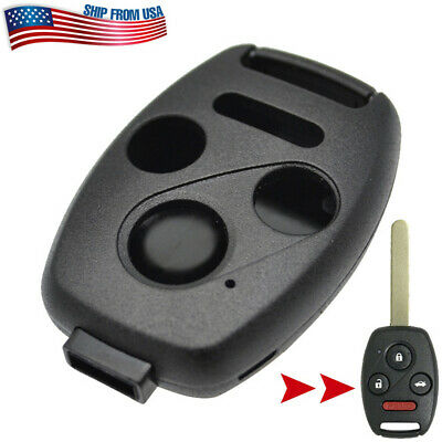 Remote Key Fob Shell Case Cover For Honda Civic Accord CR-V Pilot Insight 03-16