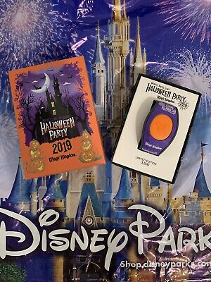 Disney Mickey's Not So Scary Halloween Party 2019 Magic Band Limited Edition LE