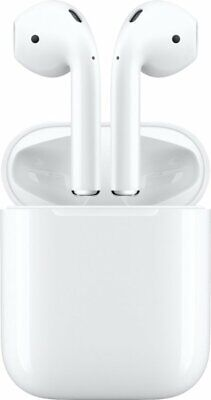 NEW Apple AirPods White MV7N2AM/A Genuine 2nd Generation 2019 with Charging Case
