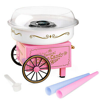 Commercial Cotton Candy Machine Maker Free Kids Party Carnival Home Sugar New