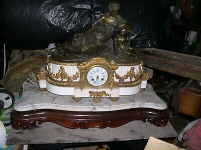 Large Heavy Raingo French Mantle Clock 1815-1820